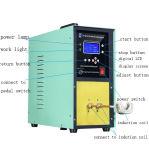 놋쇠로 만드는 용접을%s 휴대용 고주파 유도 가열 기계 25kw