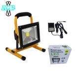 휴대용 야영 램프 재충전용 LED 일 플러드 점화