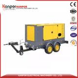 Weifang 22kw 27,5kVA gerador a diesel com reboque