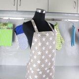 Impressão de alta qualidade promocional avental de cozinha avental de cozinha