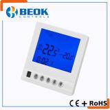 Elektrischer Heizungs-Innenthermostat für Bodenheizung mit großem LCD-Bildschirm