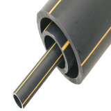 110mm Black PE do tubo de alimentação de gás