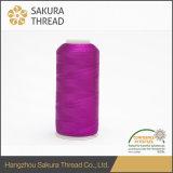 Sakua 주식에 있는 1680의 색깔을%s 가진 100%년 레이온 비스코스 120d/2 스레드