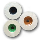 Rotelle di lucidatura della falda delle lane di alta qualità della rotella abrasiva del feltro per metallo e vetro