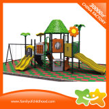 Скольжение оборудования игрушек спортивной площадки места детей напольное с качаниями