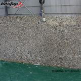 Acheteurs artificiels de pierre de quartz de Brown de brames d'or de quartz
