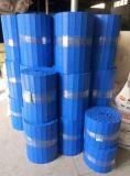Tipo liso azul correia modular de Hairise com material de POM