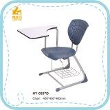 Hochschulplastikschule-Schreibens-Stuhl mit Auflage für Kursteilnehmer