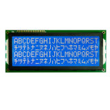 type 2004 de caractère de l'affichage à cristaux liquides 20X4 module bleu transmissif négatif d'écran LCD de contre-jour de Stn