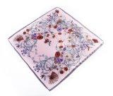 Leichter Blumenfähigkeit-Gefühls-Quadrat-Sommer-Schal (LQ-PL-1005)