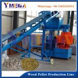 競争価格の産業生物燃料の木製の餌ラインとの高容量