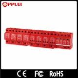 Opplei DIN 가로장 12VDC 힘 피뢰기 태양 PV 서지 보호 장치
