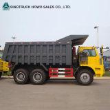 Mining Sinotruk HOWO 70ton王のダンプトラック