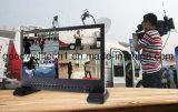 """IPS 4K UHD 3840X2160 4xhdmi 3G SDI Quad Split отображения широковещательных 15"""" TFT ЖК-дисплей"""