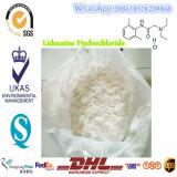 Ácido clorhídrico de la lidocaína del agente anestésico/lidocaína locales para el asesino de dolor 73-78-9