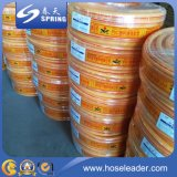 Boyau professionnel de renforcement par fibres de polyester de PVC
