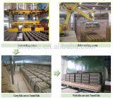 Forno de túnel de tijolos de barro com sistema de queima de gás natural
