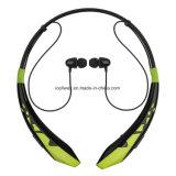Écouteur de vente chaud de Hbs Bluetooth de qualité, écouteur stéréo de Bluetooth 4.0 de sport de Hbs