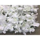 Wedding 꽃 벽 매트 실제적인 접촉 로즈 인공 꽃