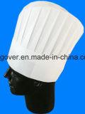 Sombrero de Chef de fibra de desechables para el servicio de comida