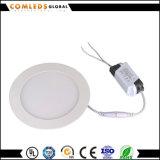 Panel Downlight des Aluminium-6W rundes LED CRI>80 mit Cer