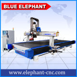 Máquina 2050 de grabado oscilante del CNC del cuero del cuchillo del CNC con el motor del eje de rotación del ranurador del CNC del alto rendimiento