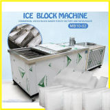Bloco semiautomático máquina de gelo para resfriamento de alimentos frescos