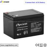 Batterie d'acide de plomb scellée par 12ah de l'usine 12V de la Chine