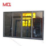 Profil de conque quatre panneaux PVC /UPVC porte coulissante avec écran