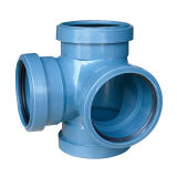 Le PP en plastique des raccords de tuyaux de drainage des eaux le coude de 45 degrés