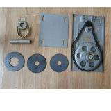 Motor de la puerta del obturador de la puerta del rodillo de los motores eléctricos 300kg del superventas 220V con la caja de engranajes