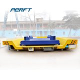 La plataforma de transferencia de la batería Powered cazo Cesta Carro de transferencia de material