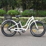 女性のための速い充満電気自転車