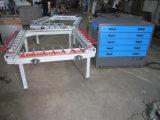 Engranzamento de seda mecânico do frame de impressão de Tsm-1215A que estica a máquina
