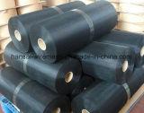 acoplamiento de alambre con poco carbono del negro del hierro 12 80mesh para el filtro