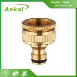 黄銅Tの銅管のホースのコネクターの真鍮のホースのコネクター
