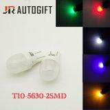 차 램프 T10 5630 2SMD 세라믹 자동차 LED 빛 194 Len