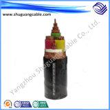 Al entièrement Screened/XLPE Insulated/PVC engainé/câble d'ordinateur/instrumentation