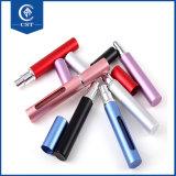 8 ml 10ml 15ml Parfum d'aluminium flacon vaporisateur recharge portable coloré, faire tourner le flacon de parfum pour les voyages