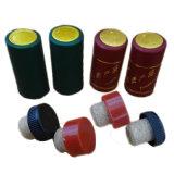 Capsules de rétrécissement de PVC pour des bouteilles de vin, emballage en plastique de capsule de PVC
