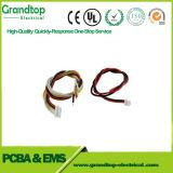 4 broches du connecteur du commutateur personnalisé sur le fil d'assemblage de câble du faisceau