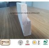 Bâti de moulage en bois imperméable à l'eau fait sur commande d'arrêt de porte de joint de doigt