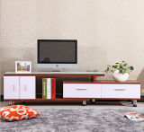 Gabinetes do carrinho da tevê do preço da mobília da sala de visitas do MDF E1 bons (UL-SS001)