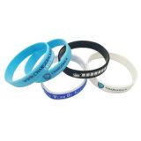 Deportes Deboss personalizado Pulsera pulsera de silicona para regalo de promoción (BM22-B).