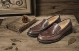 Квартиры мужские кожаные мокасины Tassel движения мужская повседневная обувь из натуральной кожи