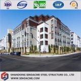 Быстро здание стальной структуры установки гарантированное качеством Prefab
