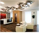 Metal moderno LED lámpara de techo para el Proyecto de iluminación de techo