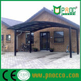 Прочная конструкция прочного поликарбоната Carports Aluminuim рамы китайский производитель (246КПП)