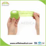 Gros gros Sport élastique Non-Woven médical Bandage cohésif
