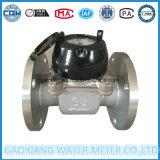 Mètre d'eau magnétique du corps Dn65 de cadran sec inoxidable de Multi-Gicleur